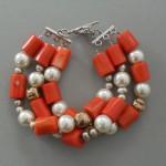 Czerwień i perły
