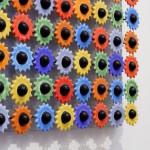Obraz ceramiczny – kwiaty